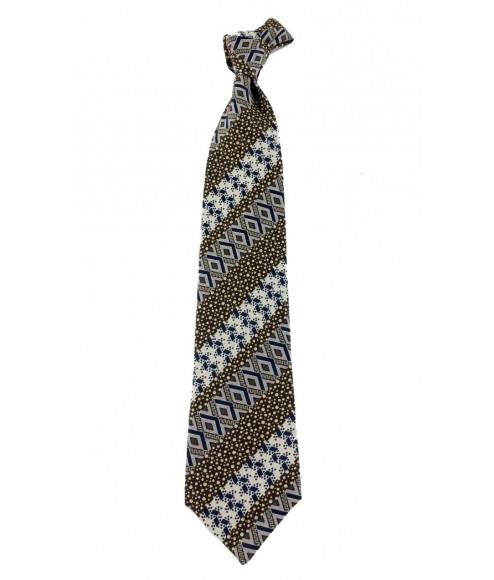 Αντρική γραβάτα μπέζ-καφέ 18844