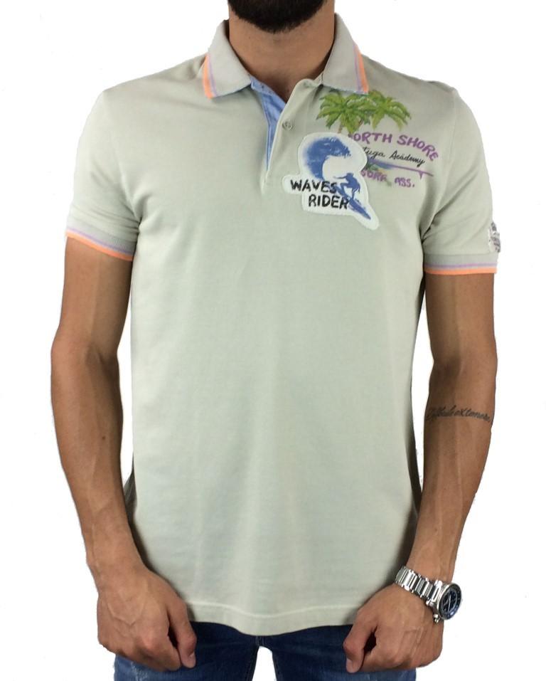 Μπλούζα Polo Tortuga Academy OR11-35284 (Μπεζ) 984296e9153