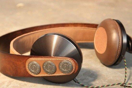 Δερματινα καφε ακουστικά