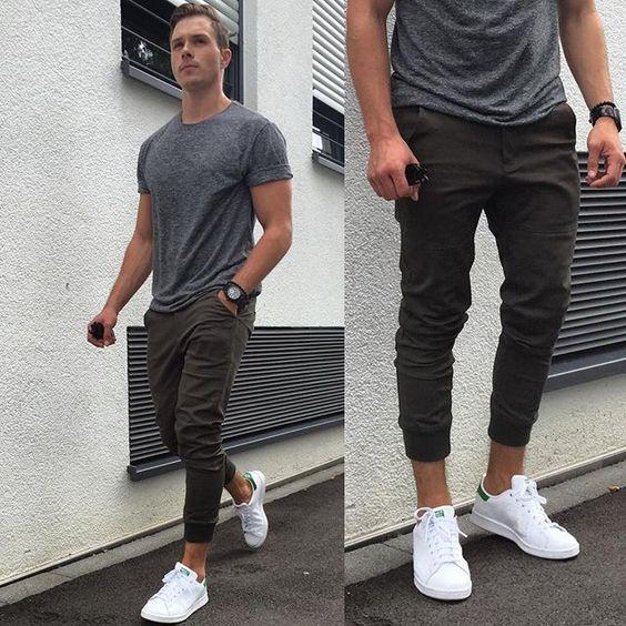 Ανδρικά λευκά sneakers για άψογο καθημερινό στυλ