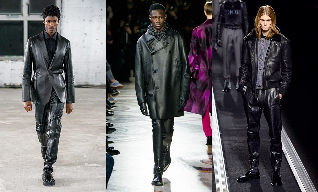 Φέτος επιβάλλεται να έχεις τουλάχιστον ένα ανδρικό δερμάτινο jacket