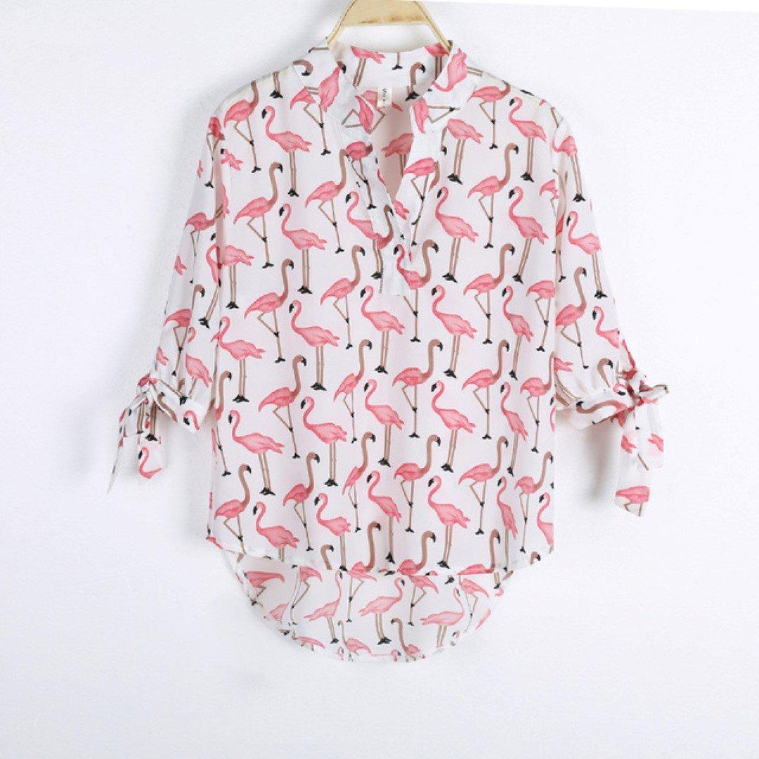 Γυναικείο Πουκάμισο με ροζ σχεδια