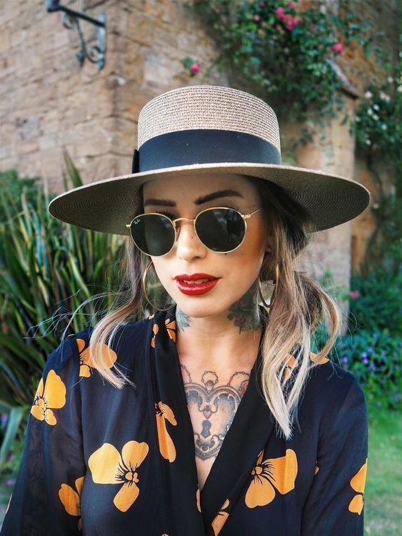 Μεταλλικά γυναικεία στρογγυλά γυαλιά ηλίου vintage