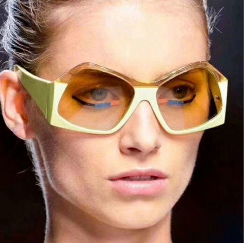 Κοκκάλινα γυναικεία γυαλιά ηλίου δίχρωμα 2020