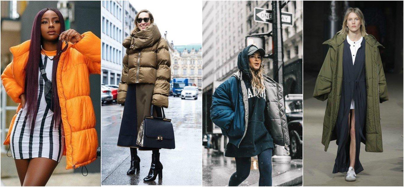 Το puffer jacket ή πιο φουσκωτό παλτό είναι η τελευταία τάση στις πασαρέλλες!