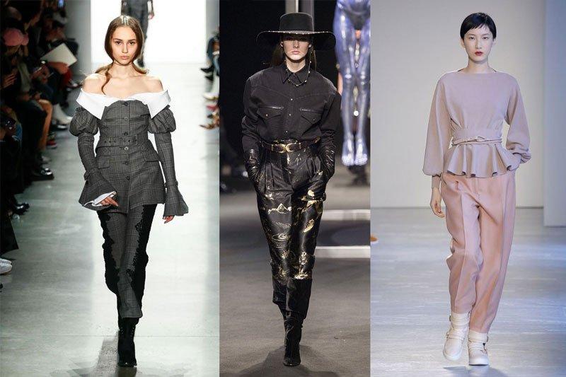 Τα σχέδια και οι γραμμές στις γυναικείες μπλούζες