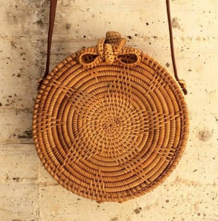 Μικρή τσάντα bamboo για την πόλη