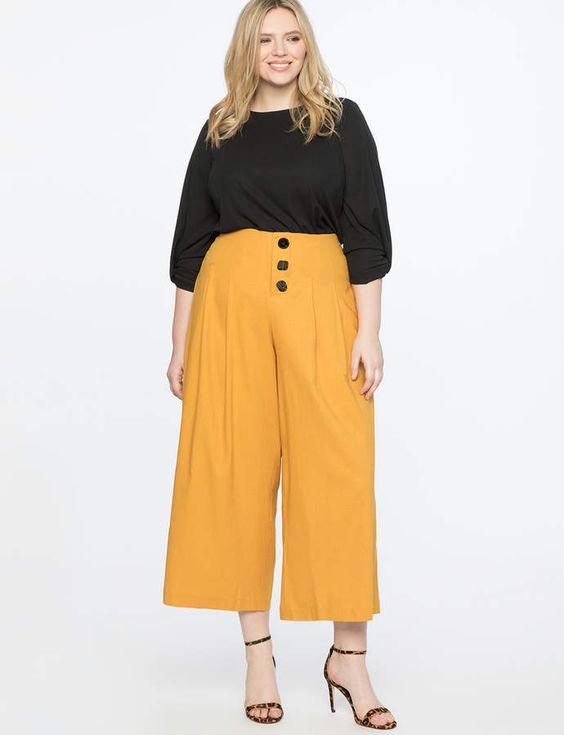 Γυναικείες παντελόνες σε μεγάλα μεγέθη και πως να τις φορέσετε