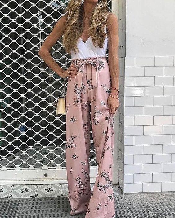 Παντελόνες γυναικείες με ζώνη στην μέση για να τις φοράτε όλη μέρα