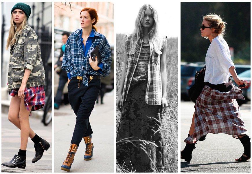 Hipster look και η μόδα επιστρέφει στα vintage ρούχα