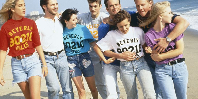 Ψηλόμεσα τζιν και σορτς στο Beverly Hills 90210