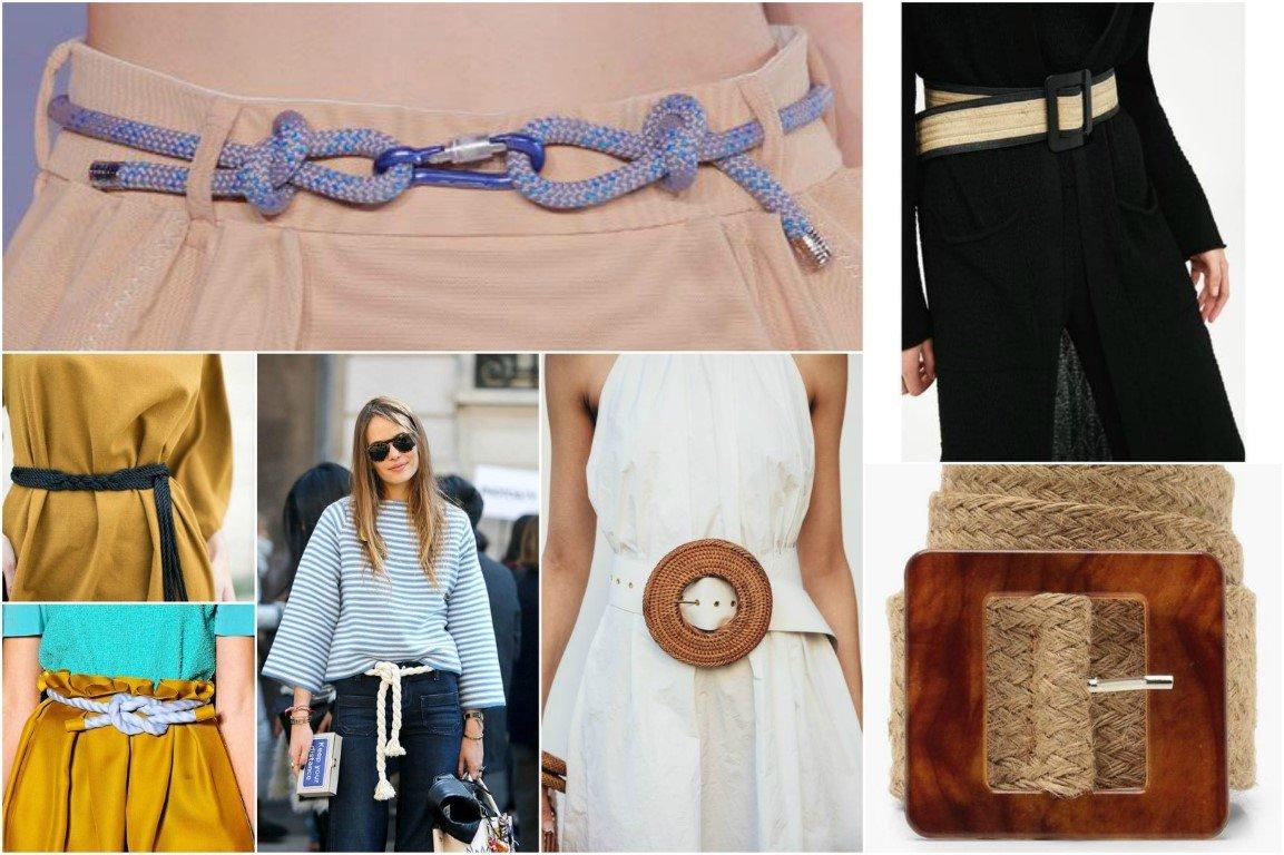 Φόρεσε μια ψάθινη ζώνη που θα κλέψει τις εντυπώσεις σε ένα μονόχρωμο look