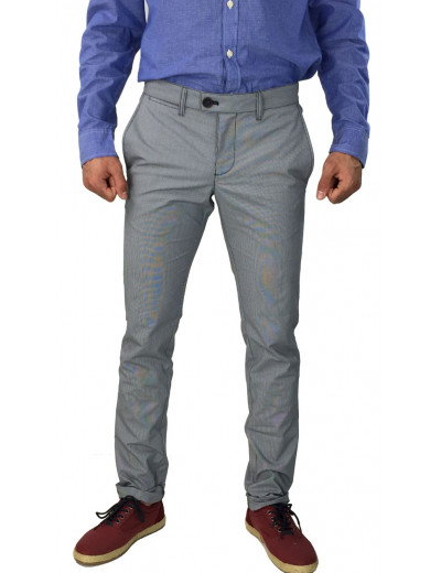 GioS γκρι υφασμάτινο παντελόνι 6036 16