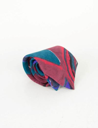 Γραβάτα κόκκινη με σχέδια 18854