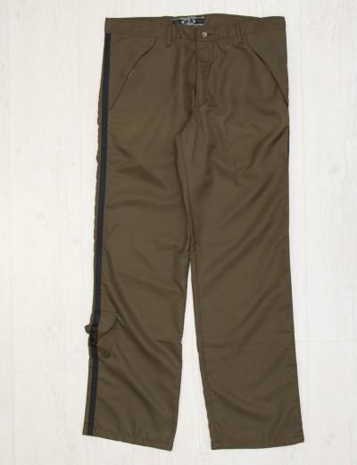 Ανδρικό χακί παντελόνι αδιάβροχο 012029D