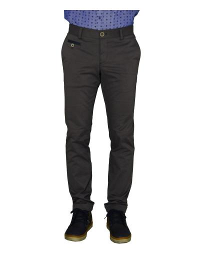 Ανδρικό υφασμάτινο παντελόνι Gio.S γκρι 6708W17W