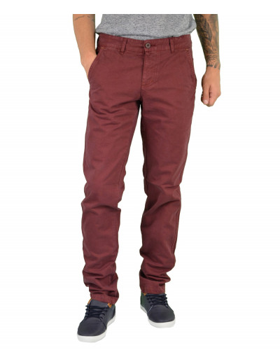 Trial μπορντώ υφασμάτινο παντελόνι Oliver W16