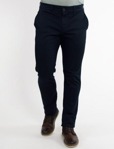 Aνδρικό μπλε υφασμάτινο Chinos παντελόνι Trial 19W Logan