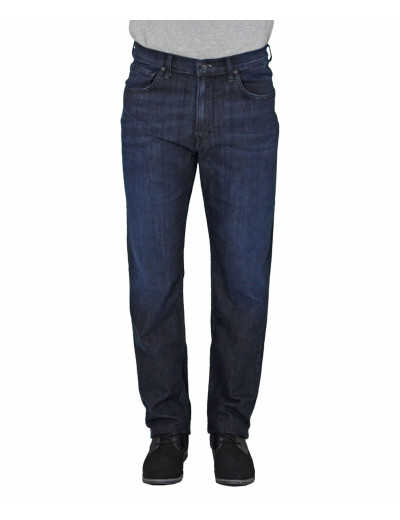 Ανδρικό τζιν Lee Brooklyn Straight blue black L452AAEC