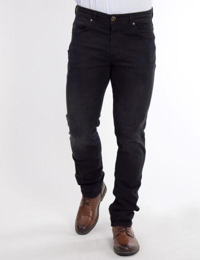 Ανδρικό μαύρο τζιν παντελόνι Denim GD4195