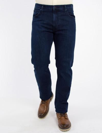 Ανδρικό μπλε σκούρο τζιν παντελόνι Daren μεσοκάβαλο L707DHGO
