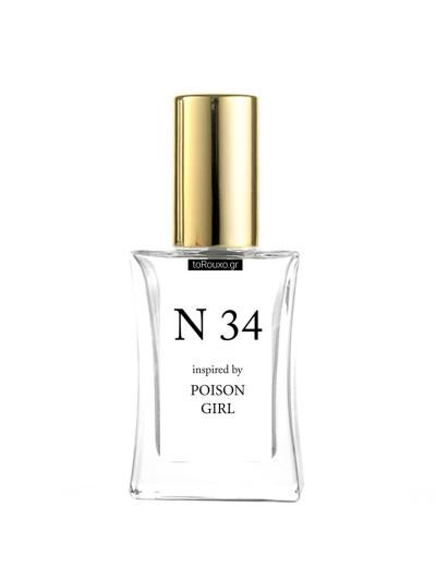 N34 εμπνευσμένο από POISON GIRL