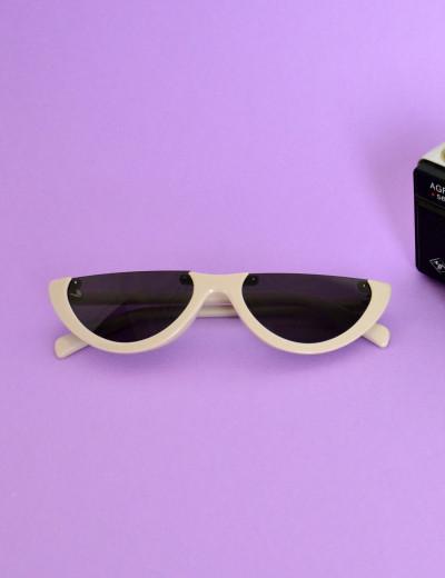 Γυναικεία γυαλιά ηλίου cat eye μπεζ  Premium S2642G