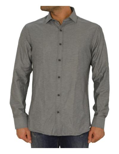 Ανδρικό πουκάμισο GioS ανθρακί 9545W17F