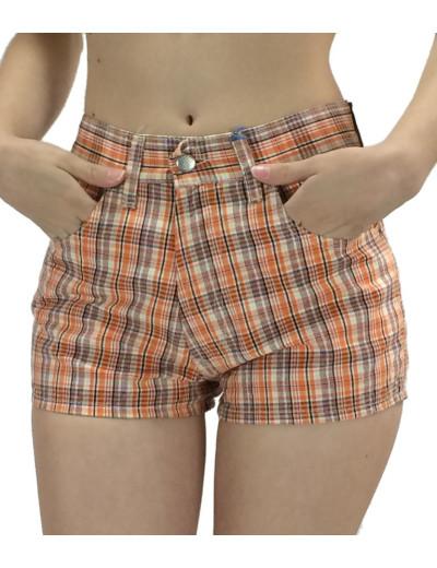 Ψηλοκάβαλο shorts καρό 71102