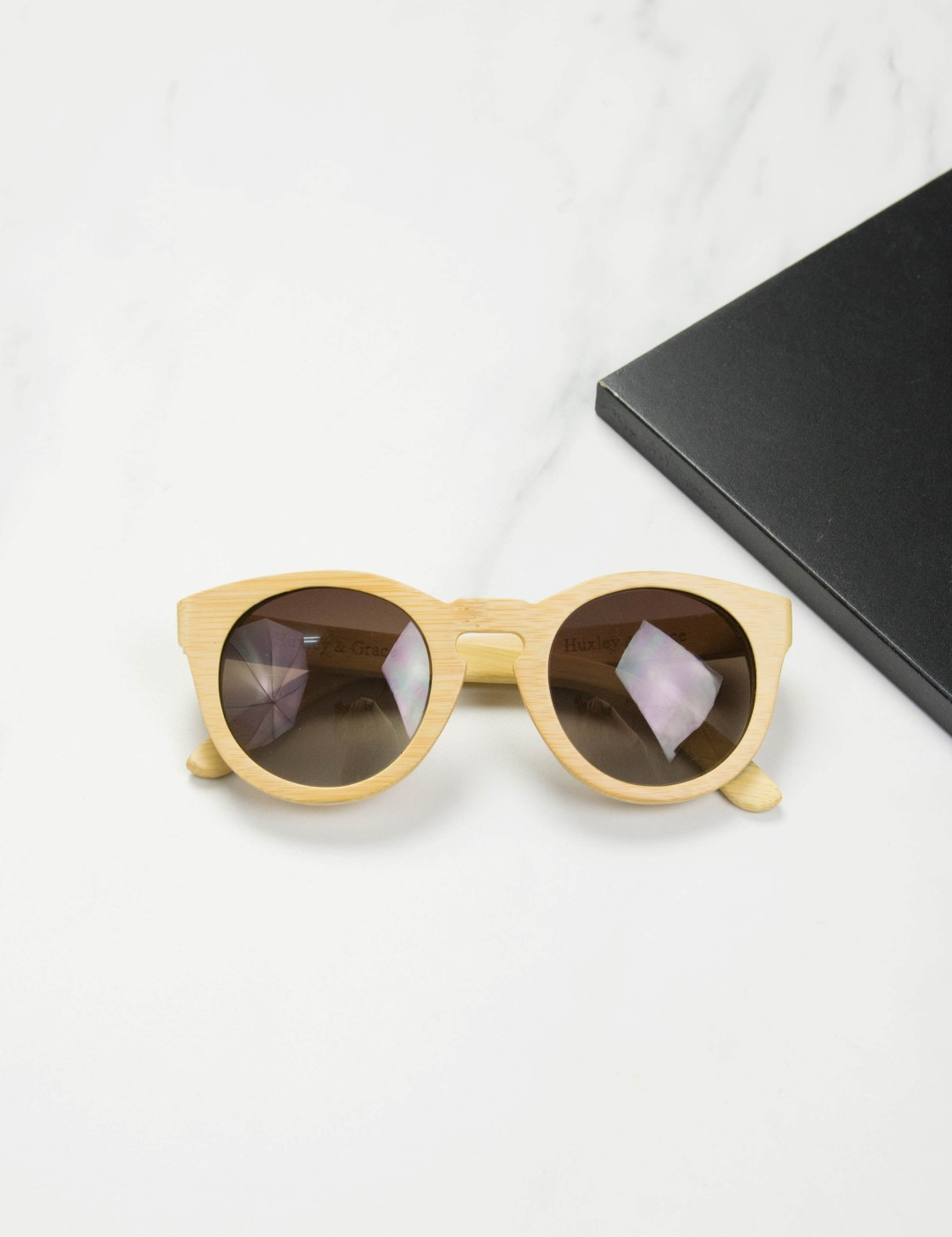 eecf193799 Huxley   Grace ξύλινα γυαλιά ηλίου Mariano 9629 (Bamboo)