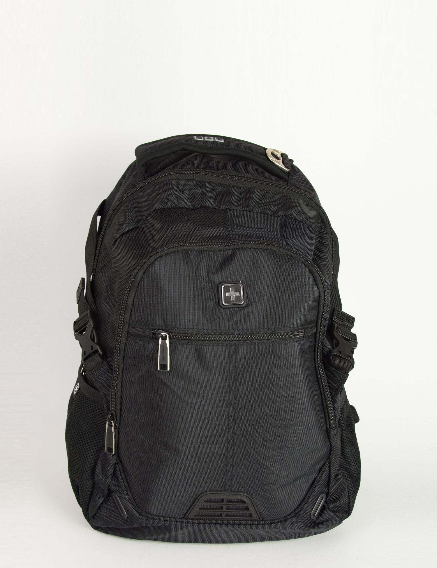 7785245e91 Torouxo Ανδρική μαύρη τσάντα μηχανής Suissewin Airflow System SN9510
