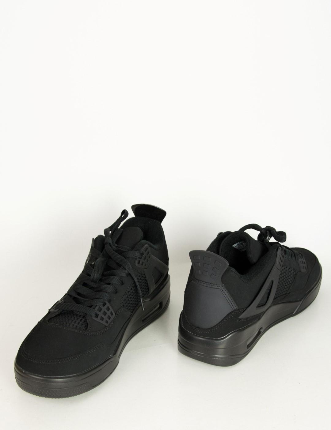 5b7b269cea81 Ανδρικά μαύρα αθλητικά Sneakers με αερόσολα 335812F