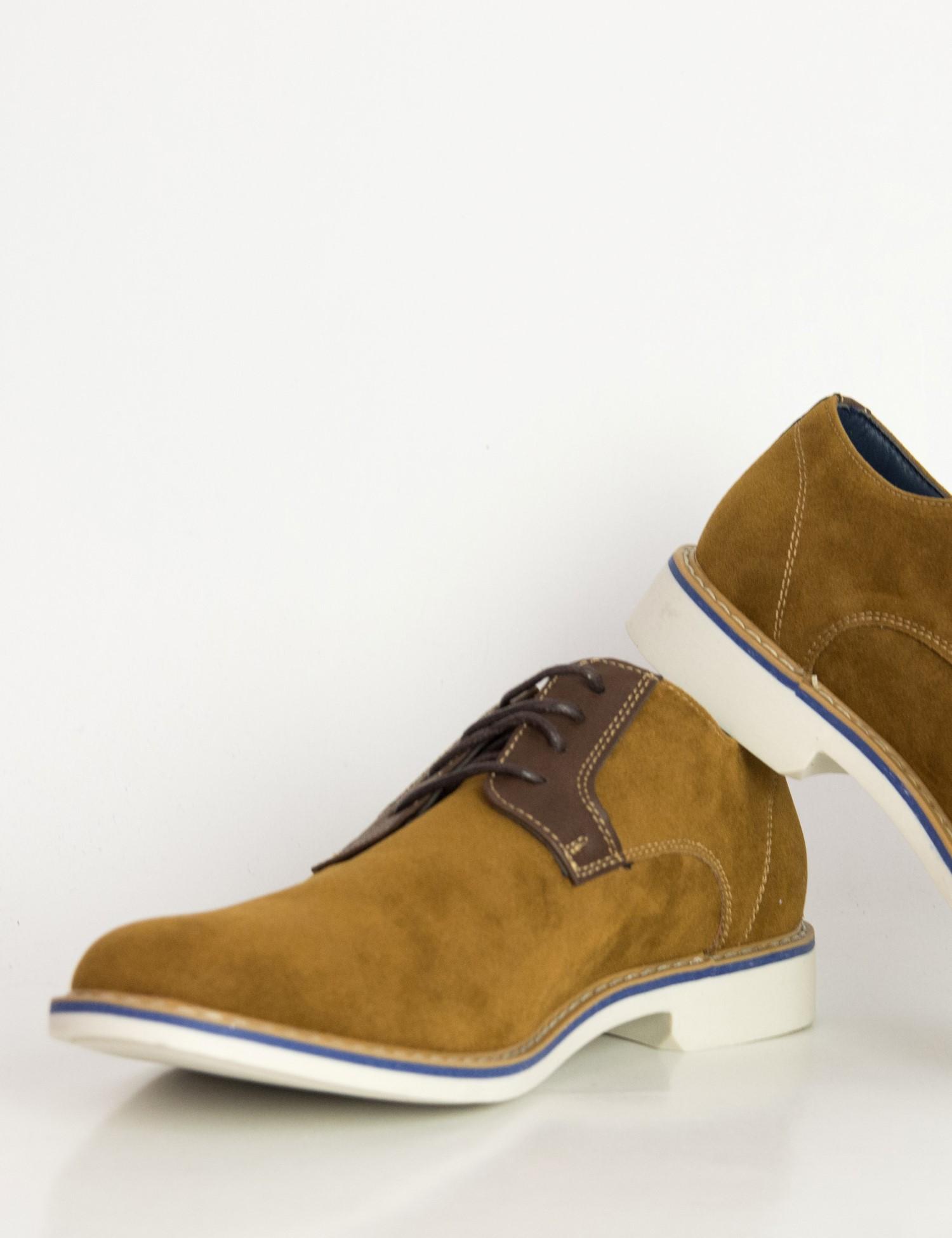 53108b38f92 Ανδρικά κάμελ σουέντ δετά παπούτσια Casual EL0636R