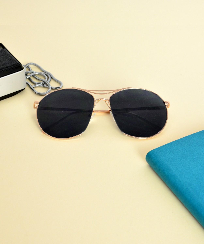 Γυναικεία Γυαλιά Ηλίου Μαύρο Χρυσό S7067Y 907e5e2afee