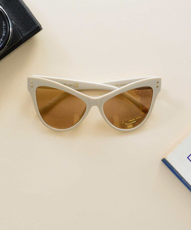 1244724ddc Γυναικεία γυαλιά ηλίου πεταλούδα χρυσά Handmade S6207C