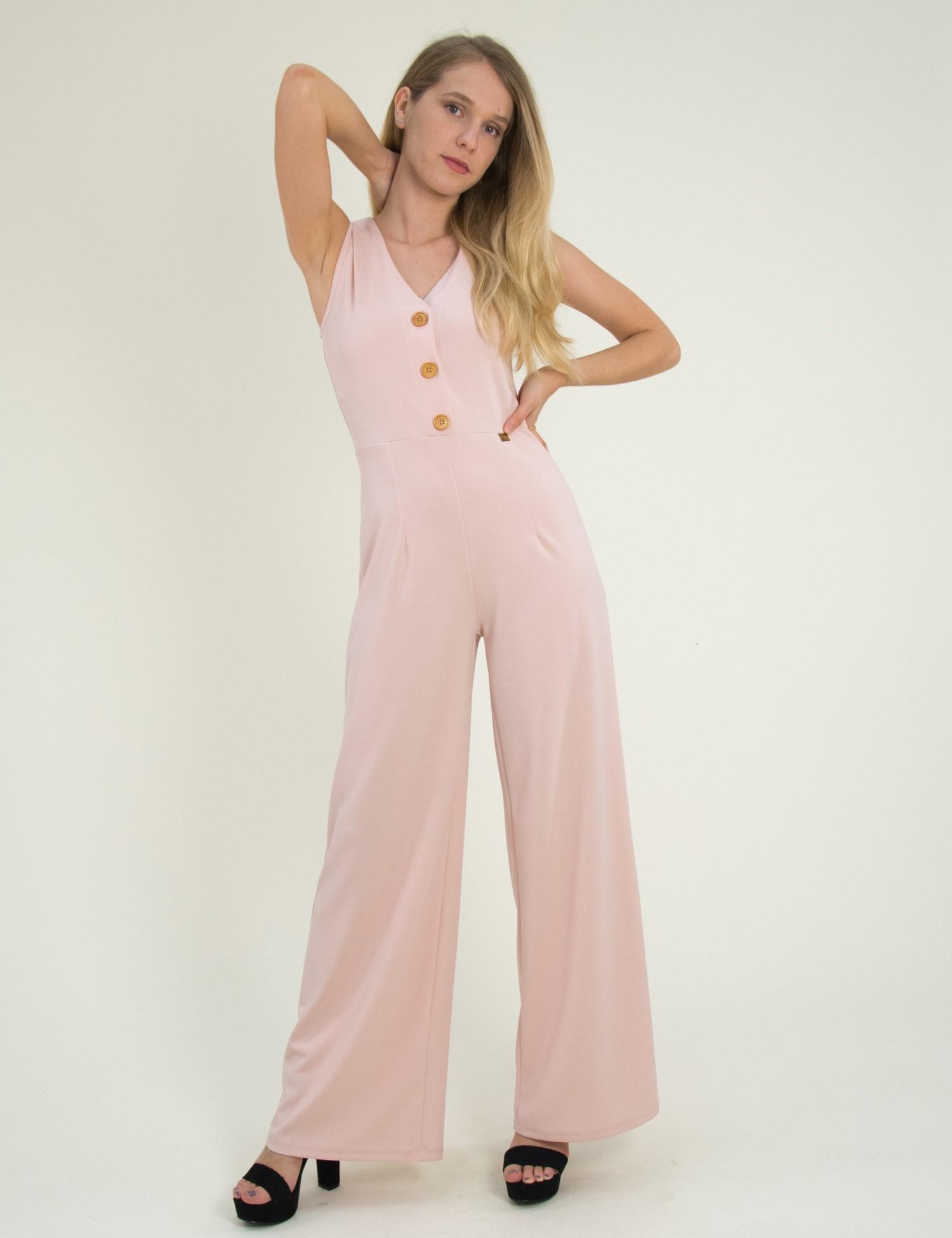 Γυναικεία αμάνικη ολόσωμη φόρμα Lipsy ροζ 1170306 5ac6bfd78f7