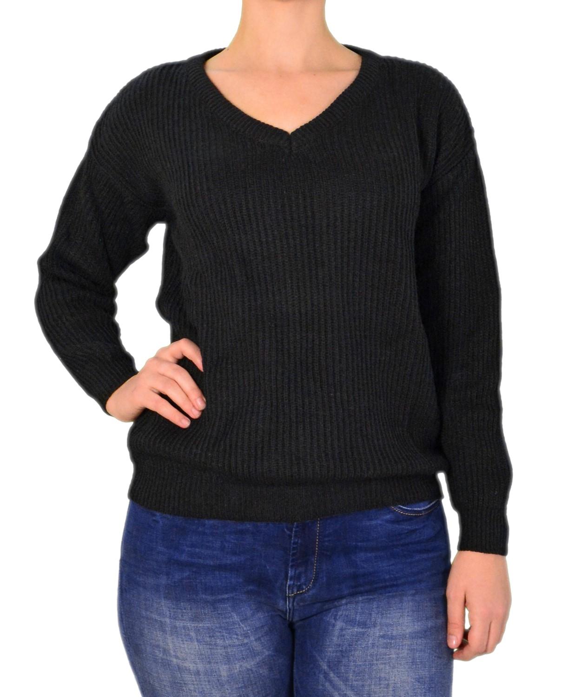 43080c57f3ed Γυναικεία   Ρούχα   Πλεκτά   Μπλούζες   Λεπτό πουλόβερ με βισκόζη ...
