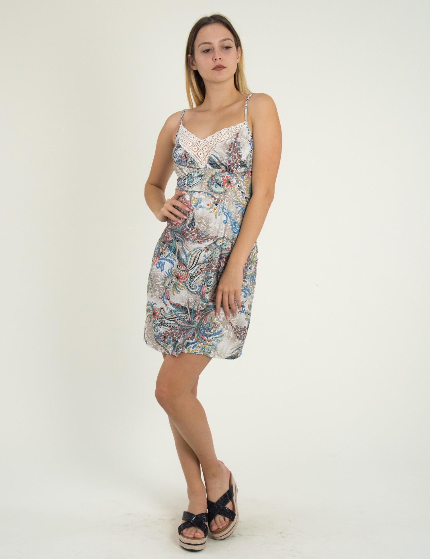 eada9498dfda Γυναικεία   Ρούχα   Φορέματα   Καθημερινά   Maxi φόρεμα με εθνικ ...