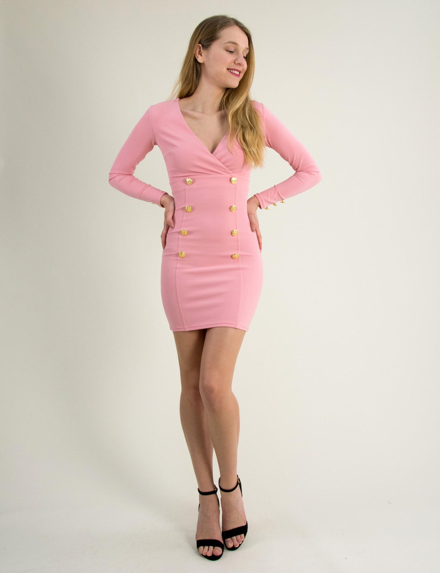 fc514a346b91 Γυναικεία   Ρούχα   Φορέματα   Καθημερινά   ΦΟΡΕΜΑ ΜΕ ΠΛΕΚΤΟ ΜΠΟΥΣΤΟ ...