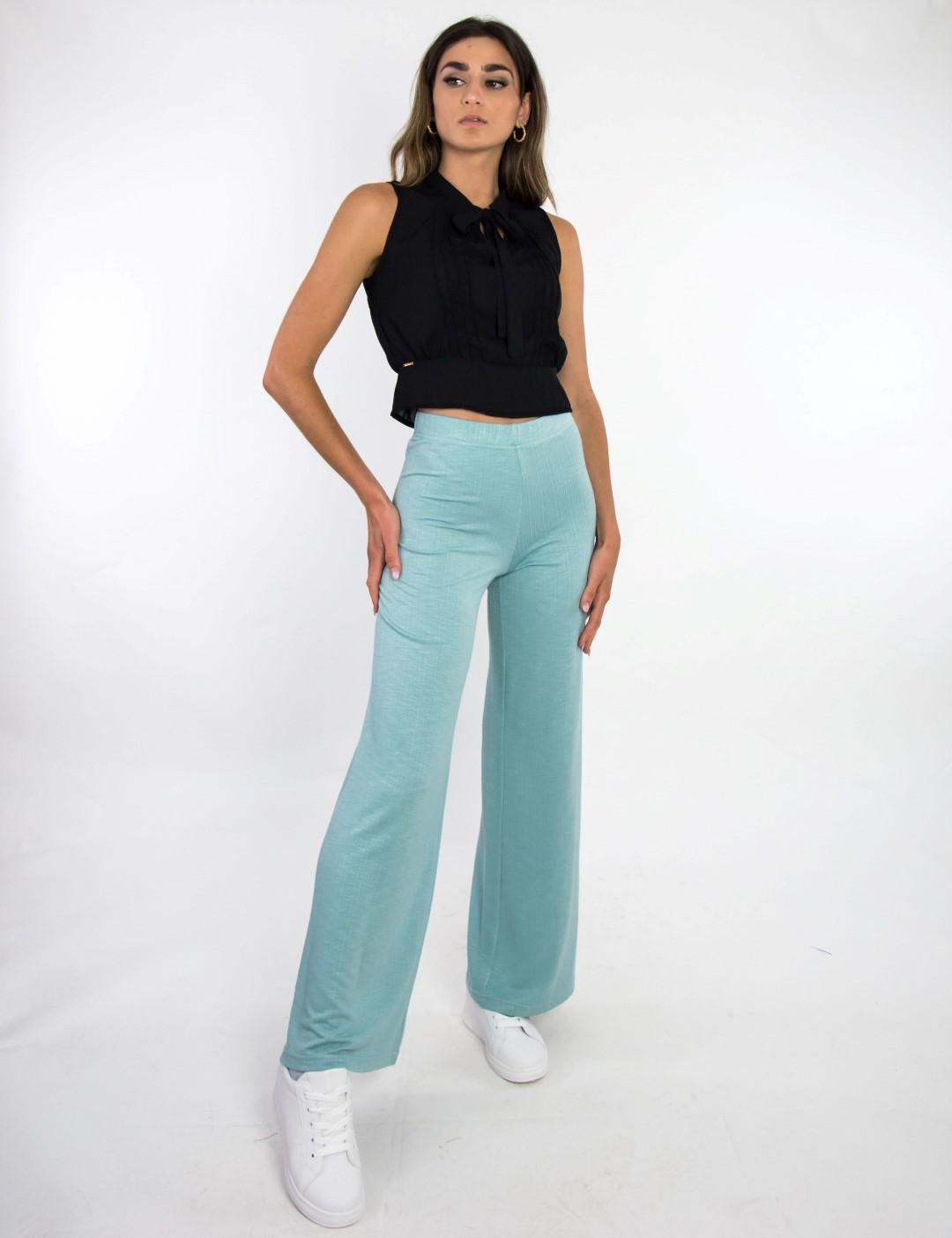 Γυναικεία βεραμάν ψηλόμεση παντελόνα με λάστιχο Lipsy 1200309