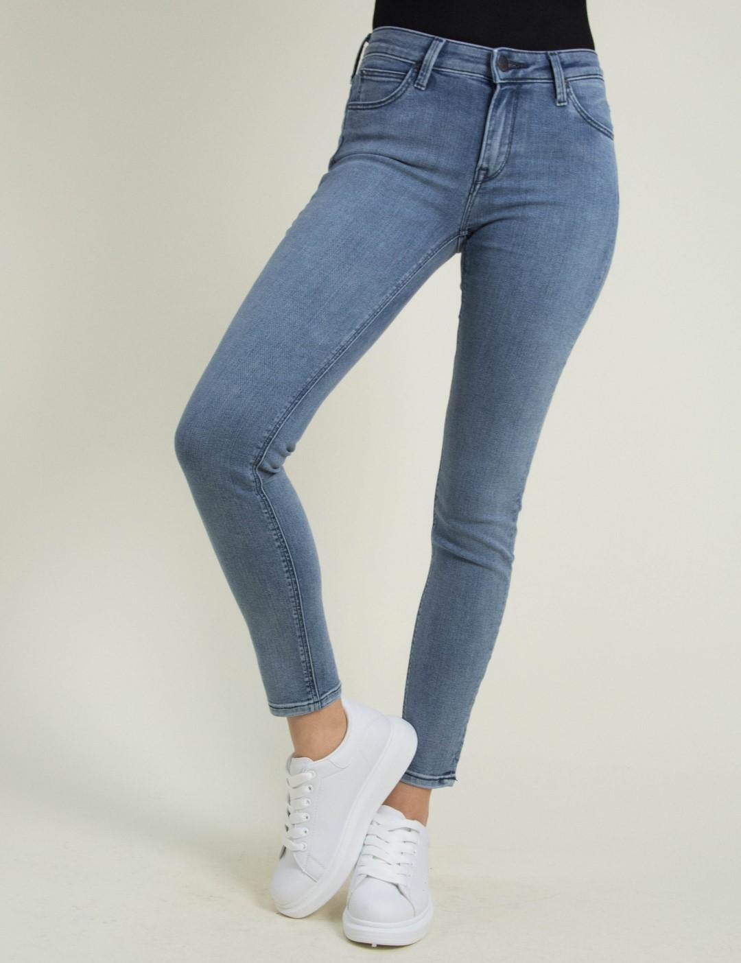 0c9e7d98e4d3 Γυναικείο μπλε τζιν παντελόνι Scarlett Skinny L526LSPS