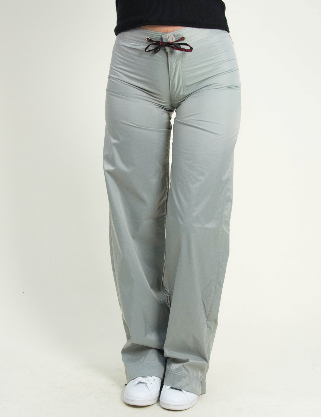 2643c516dd36 Γυναικεία γκρι αδιάβροχη παντελόνα DF203F