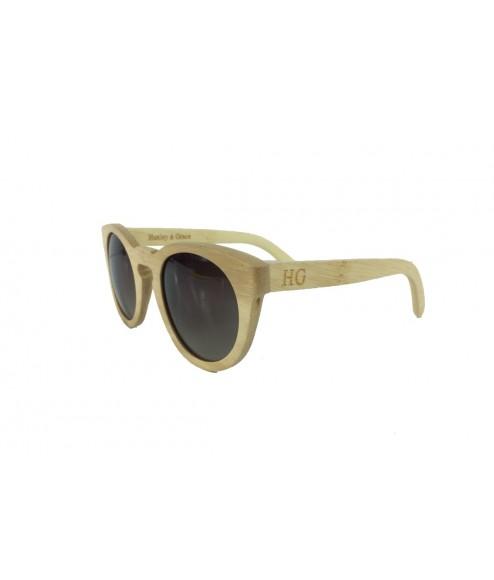 Huxley & Grace bamboo ξύλινα γυαλιά ηλίου Mariano 1501