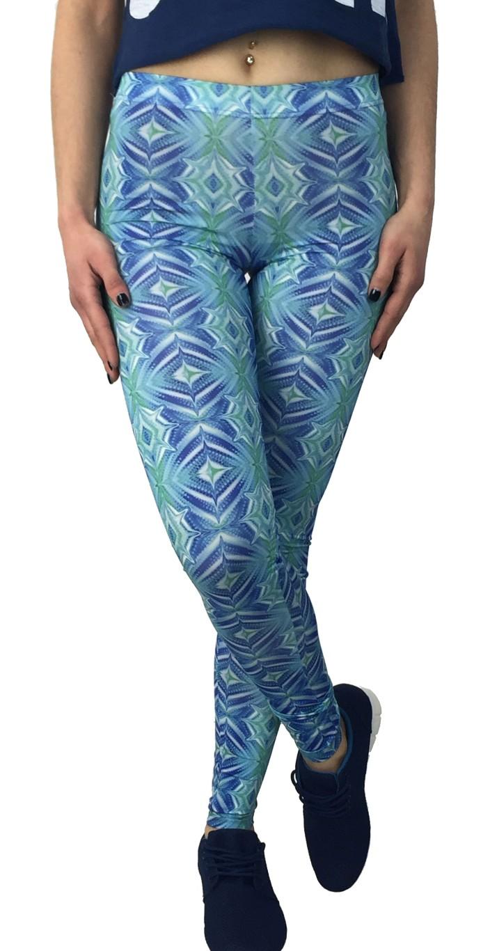 Coctail πολύχρωμο κολάν 013603014B γυναικα   γυναικεια ρουχα   παντελονια   κολάν   φόρμες