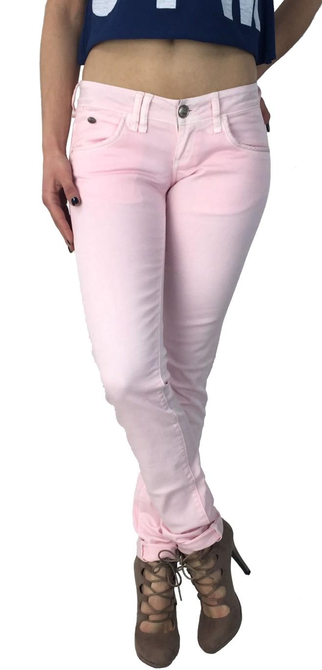 Edward ροζ υφασμάτινο παντελόνι Ellis B